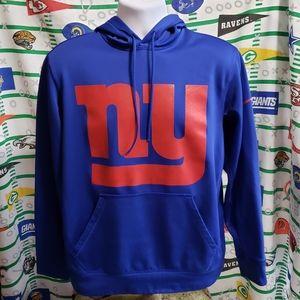 Nike New York Giants NFL Hoodie Sweatshirt Large
